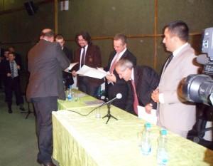 Reis Fejzić uručio zahvalnice profesorima iz Turske