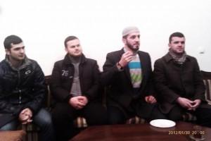 Rejhan ef. Hot, Kemal ef Salihović i Amer ef. Dautović