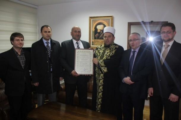 Teufik Muhammed, Rahman Kačar, Ahmed Ahmatović, reis Fejzić, Suljo Mustafić i Amer Šukurica