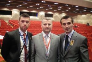 Prof. Afan Latić sa predstavnicima na takmičenju